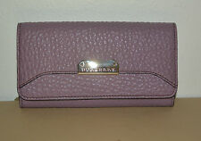 NWT BURBERRY WOMENS $495 PENROSE  LEATHER CONTINENTAL WALLET