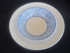 vintage art deco royal doulton envoy dessert cereal bowl d5423 blue & white