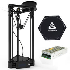 3D Printer DIY Reprap Rostock Kossel Delta Auto Level Pulley Kossel + Heated Bed
