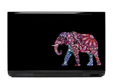 Ornate Elephant Vinyl Laptop or Automotive Art sticker decal computer auto Pinks