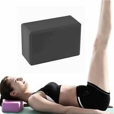 2 x BodyRip Pilates Yoga Block Foaming Foam Brick Exercise Stretching Black