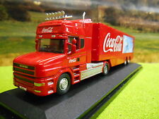 Oxford Coca Cola Scania T Cab Oso Polar Box Truck 1/76 76tcab005cc
