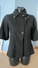 Blazer Jacke Juicy Mag Couture Paris Schwarz 36 38 M sixties Vintage Bardot Rar