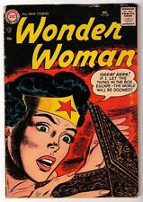 DC Comics WONDER WOMAN Vol 1 1957 88 silver age VG- 3.5  batman justice league