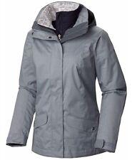 COLUMBIA Sleet To Street Interchange 3-in-1 Jacket Women Plus 2X Tradewinds Grey