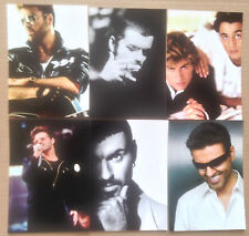 GEORGE MICHAEL TWENTY FIVE PROMO POSTCARDS COMPLETE SET OF 6