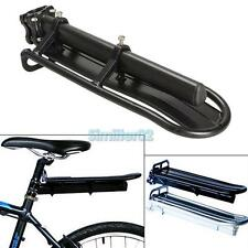 Mountain Cycling Extendable Bike Bicycle Rear Carrier Rack Seat Post Black NEW L