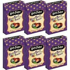 Harry Potter Bertie Botts Every Flavor Beans 1.2oz boxes ~ 6 Pack Jelly Belly