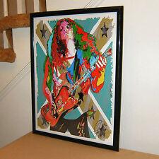 Allen Collins, Lynyrd Skynyrd, Lead Guitar , Southern Rock, 18x24 POSTER w/COA 1