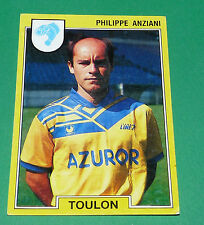 N°271 ANZIANI SPORTING CLUB TOULON SCT PANINI FOOTBALL FOOT 92 1991-1992