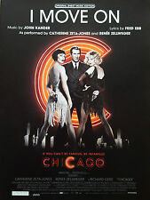 Catherine Zeta-Jones & Renée Zellweger: I Move On (from 'Chicago') (Sheet Music)