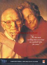 Tilt! PC-CD Rom Game 1995 Magazine Advert #3376