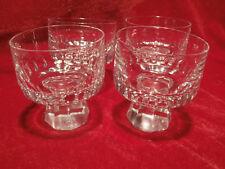 3 x Vintage 60er Likörgläser kleines Glas Friedrich Stella Kristall Schnapsglas