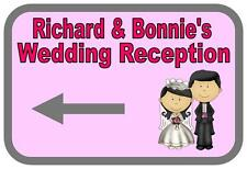 Personalised  Wedding Reception Metal Sign