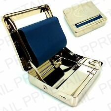 CIGARETTE ROLLING MACHINE Automatic Tobacco Roller Tin