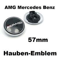 AMG Mercedes Benz 57mm Hauben Emblem für W E S C CLK SLK Klasse