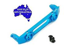 Blue alloy FRONT bumper mount plate for Axial SCX10.