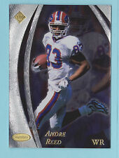1998 Collector's Edge Masters Andre Reed Buffalo Bills #22 2932/5000 (KCR)
