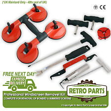 Classic Ford Pro Windscreen Glass Removal Tool Kit & Suction Cups Shield