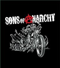 """Sons Of Anarchy Reaper Blanket- Soft Plush Thick, Queen Size 79""""X94"""" Reaper on M"""