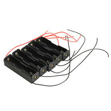 5pcs Single Slot 18650 Mobile Battery Clip Case Holder with Wire Leads DIY