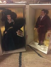 NIB Scarlett And Rhett Dolls Gone With The Wind By World Doll