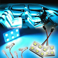 New 2x 6SMD Aqua Ice Blue LED Map Dome light interior Bulbs Car Truck Lamp GV8d