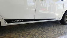 TOYOTA COROLLA SIDE STRIPES GRAPHICS DECALS VINYL FOR COROLLA 2015