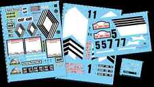 [FFSMC Productions] Decals 1/8 Berlinette Alpine A110 1800 Tour de Corse 1973