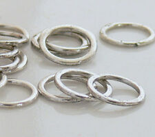 15mm Ring Antiqued Silver Metal Beads 20 Link Connector New Arrivals