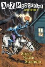 A to Z Mysteries: Sleepy Hollow Sleepover by Ron Roy (2010, Paperback)