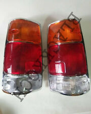 Rear combination Light Tail Lamp Chrome for 88-97 Isuzu TF TFR Rodeo Pickup