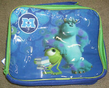 MONSTERS UNIVERSITY INSULATED LUNCH BAG NURSERY SCHOOL PICNICS SCULLY & MIKE INC