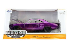 Bigtime Muscle Series: 1970 Plymouth Road Runner (Purple) 1:24 Scale
