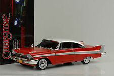 1958 Plymouth Fury Christine/Dark window working Frontlight 1:18 AUTO World