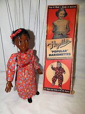 Rare Vintage 1950's Original Hazelle's Marionettes Topsy # 808 With Original Box