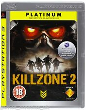 SONY PS3 KILLZONE 2 GAME BRAND NEW PAL SEALED KILL ZONE