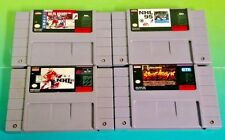 NHLPA Hockey 93, 95, 97, Street Hockey 95 - SNES Super Nintendo Games Tested
