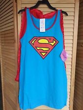 Sexy Classic Supergirl  Halloween Costume Tank Dress Small NEW