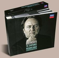 Ludwig Van Beethoven The Symphonies Riccardo Chailly 5 CDs - NEW & SEALED