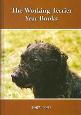 HARCOMBE DAVID DOG BOOK WORKING TERRIER YEAR BOOKS 1987-91 TERRIERS hardback new