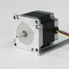 1pc Nema 23 CNC 425oz-in,Dual Shaft,4-lead Stepper Motor Router 3D Printer