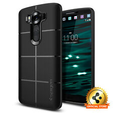 Spigen® For LG V10 [Rugged Armor] Shockproof Case Black TPU Ultra Slim Cover