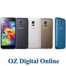 NEW Samsung Galaxy S5 mini G800F 16GB 8MP 4G LTE Next G Phone 1 Yr Au Wty