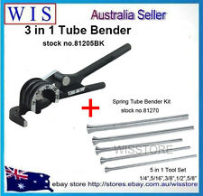 3 in 1 Tube Bender& 5 size Spring Tube Bender Plumbing A/C Aluminium Copper Pipe