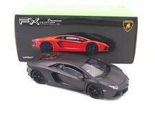 1:24 Welly Lamborghini Aventador LP700-4 Diecast Model Car New Black New