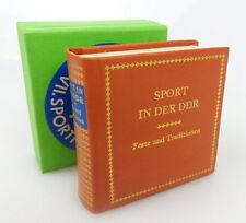 Minibuch: Sport in der DDR Feste un Traditionen Offizin Andersen Nexö bu0735
