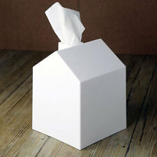 Umbra Casa Tissue Box Cover White Holder Organizer Tidy Cute Bath Home Decor