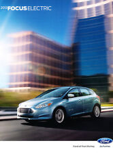 2013 Ford Focus Electric 20-page Original Car Sales Brochure Catalog