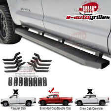 Running Boards Step Bar Raptor for 07-14 Toyota Tundra Double Cab Heavy Duty